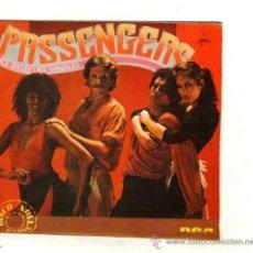 Discos de vinilo: UXV PASSENGERS SINGLE PROMOCIONAL 1980 HE'S SPEEDY LIKE GONZALES / I´LL BE STANDING BESIDE YOU . Lote 32426047