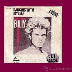 Discos de vinilo: BILLY IDOL DISCO EP RARO CHS 2543 SPA MONY MONY MAS 3. Lote 51127210