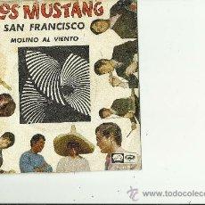 Discos de vinilo: LOS MUSTANG.2 CANCIONES.1967. Lote 32270344