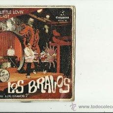 Discos de vinilo: LOS BRAVOS.2 CANCIONES. Lote 32270357