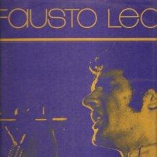 Discos de vinilo: FAUSTO LEALI ANTHOLOGY. Lote 32273986