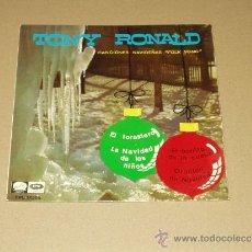 Discos de vinilo: TONY RONALD EP CANCIONES NAVIDEÑAS FOLK SONG. Lote 32275985