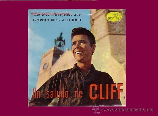 CLIFF RICHARD CON LOS SHADOWS DISCO EP (Música - Discos de Vinilo - EPs - Pop - Rock Internacional de los 50 y 60)