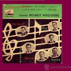 Discos de vinilo: SEXTETO HELMUT WEGLINSKI DISCO EP ESPÀÑOL 1958. Lote 9243695