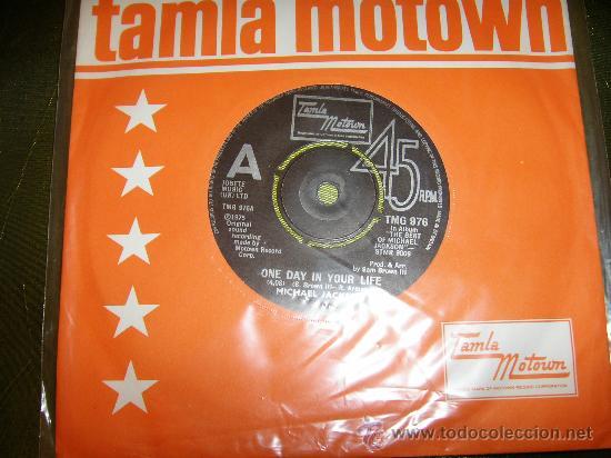 MICHAEL JACKSON ONE DAY IN YOUR LIFE 45 SINGLE VINILO. GRAN BRETAÑA (Música - Discos - Singles Vinilo - Pop - Rock - Internacional de los 70)