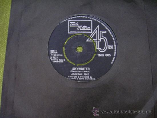 MICHAEL JACKSON 5 SKYWRITER SINGLE 45 VINILO. GRAN BRETAÑA (Música - Discos - Singles Vinilo - Pop - Rock - Internacional de los 70)