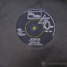 Discos de vinilo: MICHAEL JACKSON 5 SKYWRITER SINGLE 45 VINILO. GRAN BRETAÑA. Lote 32292151