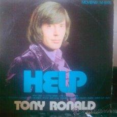 Discos de vinilo: TONY RONALD.LP.10 CANCIONES. HELP-SUPERSTAR-TU NOMBRE.ETC.ETC.ETC.. Lote 32297606