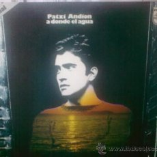 Discos de vinilo: PATXI ANDION. LP SERIE ESPECIAL 11 CANCIONES. Lote 32297764