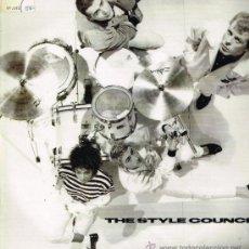 Discos de vinilo: THE STYLE COUNCIL - IT DIDN'T MATTER (2 VERSIONES) - MAXISINGLE 1987. Lote 32300263