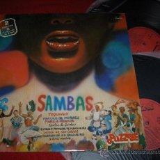 Disques de vinyle: SAMBAS TOQUINHO Y VINICIUS/ GRES/ IMPERIO SERRANO 2LP 19 80 PUZZLE SALSA LATIN . Lote 32310036