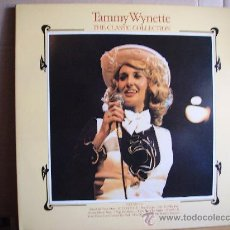 Discos de vinilo: TAMMY WYNETTE --- THE CLASSIC COLLECTION. Lote 32320025