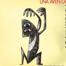 Discos de vinilo: LOS MANOLOS - UNA AVENTURA / QUALSEVOL NIT POT SORTIR EL SOL - MAXISINGLE 1992. Lote 32324540