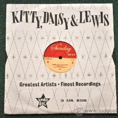 Discos de vinilo: KITTY, DAISY & LEWIS - (BABY) HOLD ME TIGHT 10