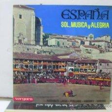 Discos de vinilo: ESPAÑA - SOL, MUSICA Y ALEGRIA - VERGARA . Lote 32331467