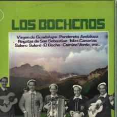 Discos de vinilo: LOS BOCHEROS - VIRGEN DE GUADALUPE, REGATAS DE SAN SEBASTIAN, PANDERETA ANDALUZA, ETC... Lote 32333916