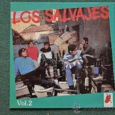 Discos de vinilo: LOS SALVAJES - VOL.2. Lote 32337749