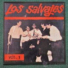 Discos de vinilo: LOS SALVAJES - VOL.1. Lote 32337790