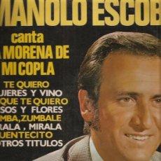 Discos de vinilo: MANOLO ESCOBAR. Lote 32342646