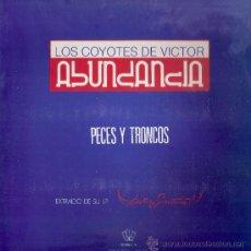 Discos de vinil: LOS COYOTES - PECES Y TRONCOS / CORAZON DE RELOJ (RE-MEZCLA) ( MAXI) DRO 1990 - EX/EX. Lote 32344717