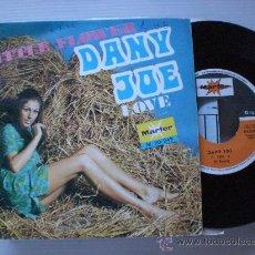 Discos de vinilo: DANY JOE, LITTLE FLOWER, SINGLE MARFER 1972, VER ESTADO EN FOTOS, RARO Ç. Lote 32344873