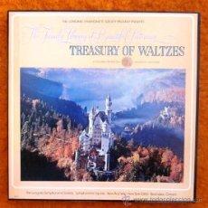 Discos de vinilo: TREASURY OF WALTZES - CAJA CON 3 LPS - EXCELENTE ESTADO . Lote 32350020