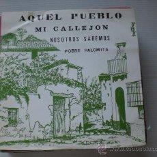 Discos de vinilo: JULIA Y SU ORQUESTA, (CHICA YE-YE), AQUEL PUEBLO, EP SANDIEGO 1976, NUEVO, RARO OFERTA. Lote 34434375