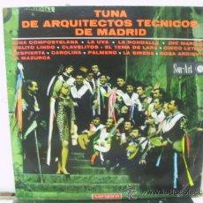 Discos de vinilo: TUNA DE ARQUITECTOS TECNICOS DE MADRID - EDICION MEJICANA - SON ART / VERGARA . Lote 32352739