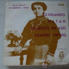 Discos de vinilo: MAGNIFICOS Y MARBEL, OLVIDANDO, EP BCD, 1974, PROMOCIONAL, ¡¡¡NUEVO¡¡¡ LIQUIDACION. Lote 32352814