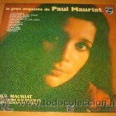 Discos de vinilo: LA GRAN ORQUESTA DE PAUL MAURIAT-SUS MEJORES TEMAS SABOR LATINO. Lote 32355505