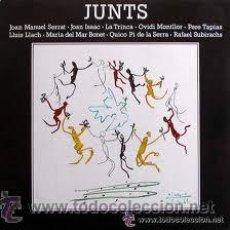 Discos de vinilo: SERRAT, LA TRINCA, LLACH, MARIA DEL MAR BONET-JUNTS. Lote 32355931