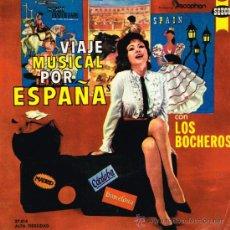 Discos de vinilo: LOS BOCHEROS - BETI MAITE / JOLIN JOLIN / VIRGEN DE GUADALUPE / REGATAS DE SAN SEBASTIAN - EP 1961. Lote 32376813