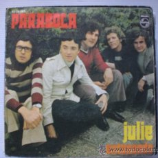 Discos de vinilo: PARABOLA, JULIE, SINGLE PHILIPS 1971, EXCELENTE ESTADO OFERTA. Lote 32362153