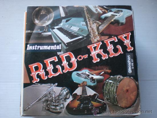 RED-KEY, LLUVIA OTOÑAL, SINGLE DISCPHON 1972, NUEVO A EXTRENAR (Música - Discos de Vinilo - EPs - Grupos Españoles de los 70 y 80)