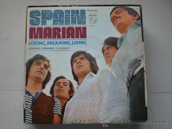 SPAIN, MARIAN, ROCK PROGRESIVO, SINGLE PHILIPS 1971, NUEVO, RARO OFERTA (Música - Discos de Vinilo - EPs - Grupos Españoles de los 70 y 80)