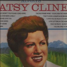 Discos de vinilo: LP-PATSY CLINE-ALWAYS-PICKWICK 3219-1987--COUNTRY. Lote 32372245