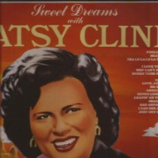 Discos de vinilo: LP-PATSY CLINE-SWEET DREAMS-ENTERTAINERS 13018-1986--COUNTRY. Lote 32372291