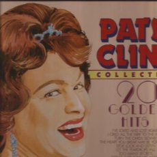 Discos de vinilo: LP-PATSY CLINE-20 GOLDEN HITS-MASTERS 41285-COUNTRY. Lote 32372348