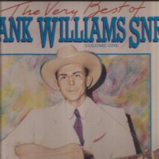 Discos de vinilo: LP-HANK WILLIAMS-THE VERY BEST...VOL.1-PICKWICK 2084-1987-COUNTRY. Lote 32372397