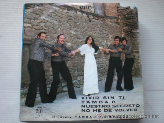TAMBA 8 CON BLANCA, YE-YE VIVIR SIN TI, EP BCD, 1976, PROMOCIONAL NUEVO OFERTA (Música - Discos de Vinilo - EPs - Grupos Españoles de los 70 y 80)
