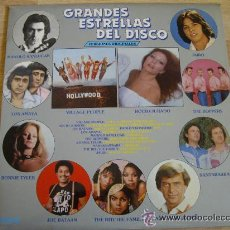 Discos de vinilo: GRANDES ESTRELLAS DEL DISCO-BONNIE TYLER,VILLAGE PEOPLE ETC.. Lote 32373387