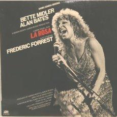 Discos de vinilo: BETTE MIDLER BANDA SONORA ORIGINAL LA ROSA LP ATLANTIC 1979. Lote 32375620