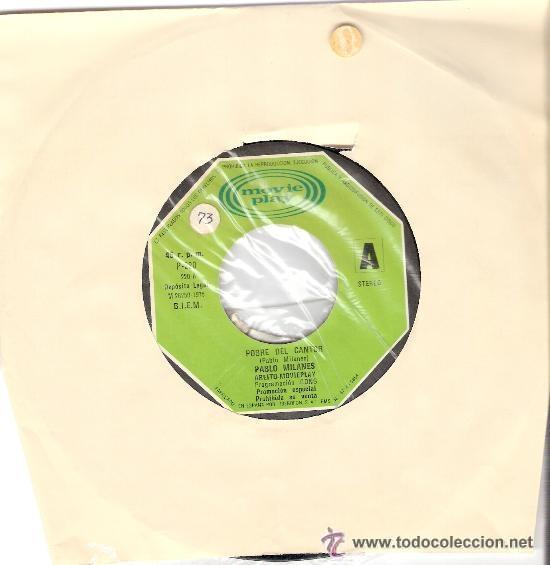 Discos de vinilo: Pablo Milanes Promo Moviopaly 1975 - Foto 2 - 22355408