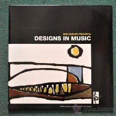 Discos de vinilo: BEN VAUGHN : PRESENTS - DESIGN IN MUSIC. Lote 32378680