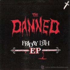 Discos de vinilo: THE DAMNED - DISCO MAN + 3 (EP DE 4 CANCIONES) EDIC. HOLANDESA - VG++/VG++. Lote 32383317