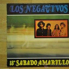 Discos de vinilo: LOS NEGATIVOS - 18º SABADO AMARILLO - VICTORIA 1987 . Lote 32396039