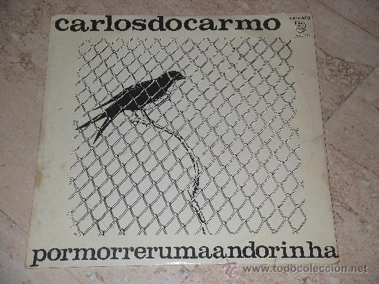 CARLOS DO CARMO- POR MORRER UMA / LP / 1968-ORIGINAL PORTUGUES-PHILIPS (Música - Discos - LP Vinilo - Cantautores Extranjeros)