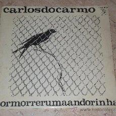 Discos de vinilo: CARLOS DO CARMO- POR MORRER UMA / LP / 1968-ORIGINAL PORTUGUES-PHILIPS. Lote 32397836