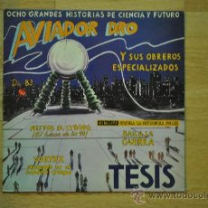 Discos de vinilo: AVIADOR DRO Y SUS OBREROS ESPECIALIZADOS - TESIS (OCHO GRANDES HISTORIAS DE CIENCIA Y FUTURO ) . Lote 32403964