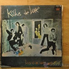 Discos de vinilo: KAKA DE LUXE - LAS CANCIONES MALDITAS - DISCOS FAN LP . Lote 32404325